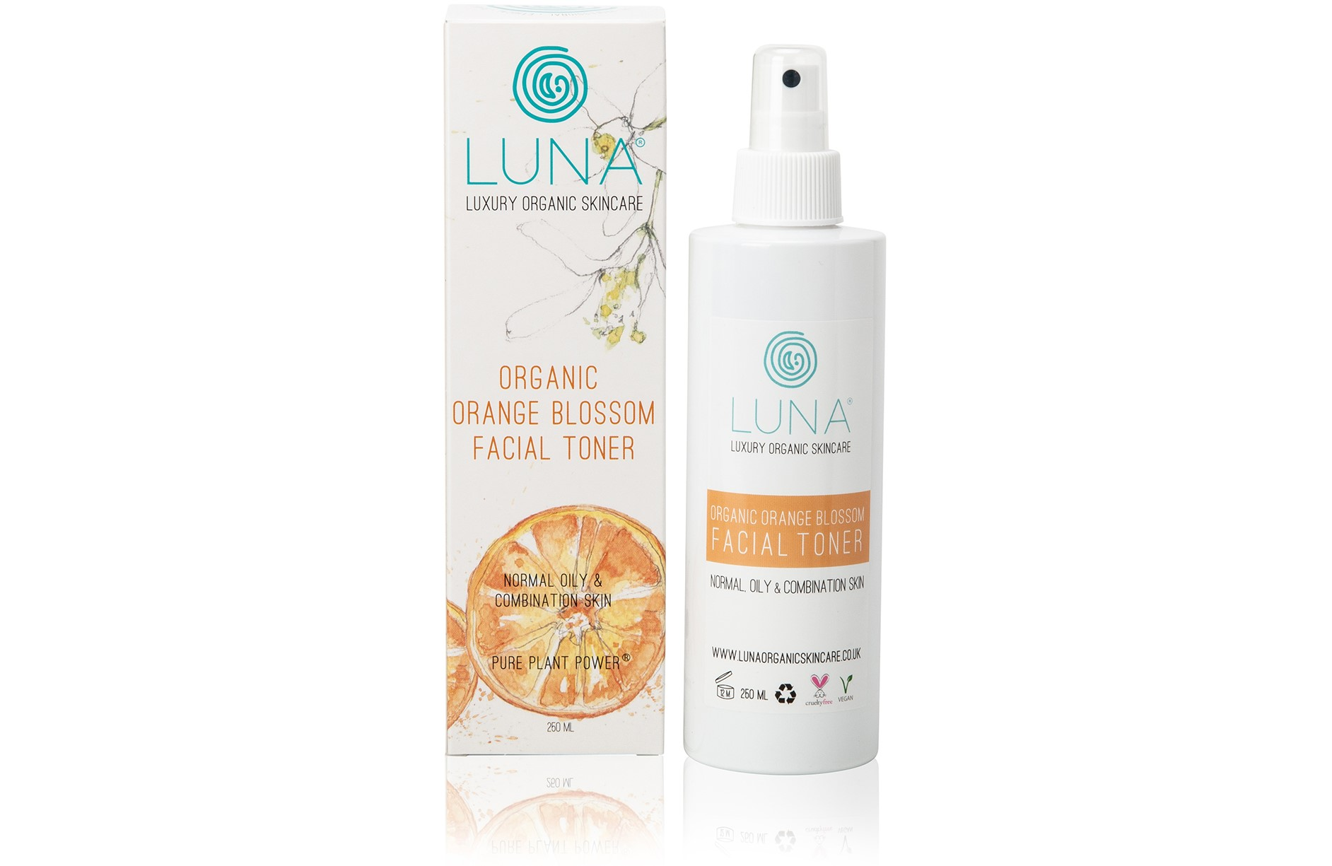 Organic Orange Blossom Facial Toner